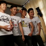 The Dream Boyz photo shoot